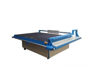 semi auto matic glass cutting machine