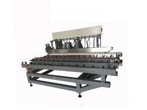 Straight line glass grinding machine