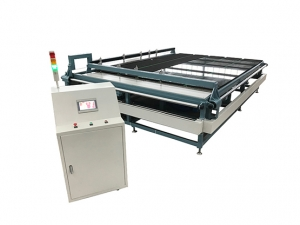 Semi auto glass cutting machine