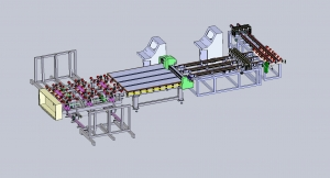 Ruilong Automatic glass breaking line