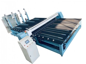 cutting laminated glass