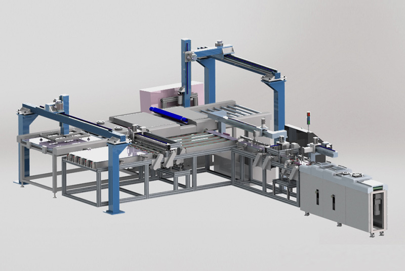 Automatic Glass Processing Line